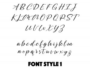 Font Style 1